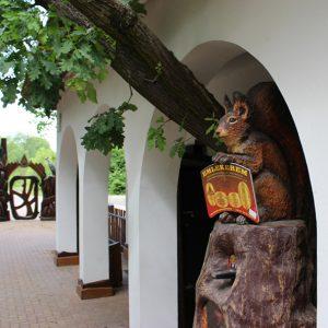 Fotó a bejáratnál